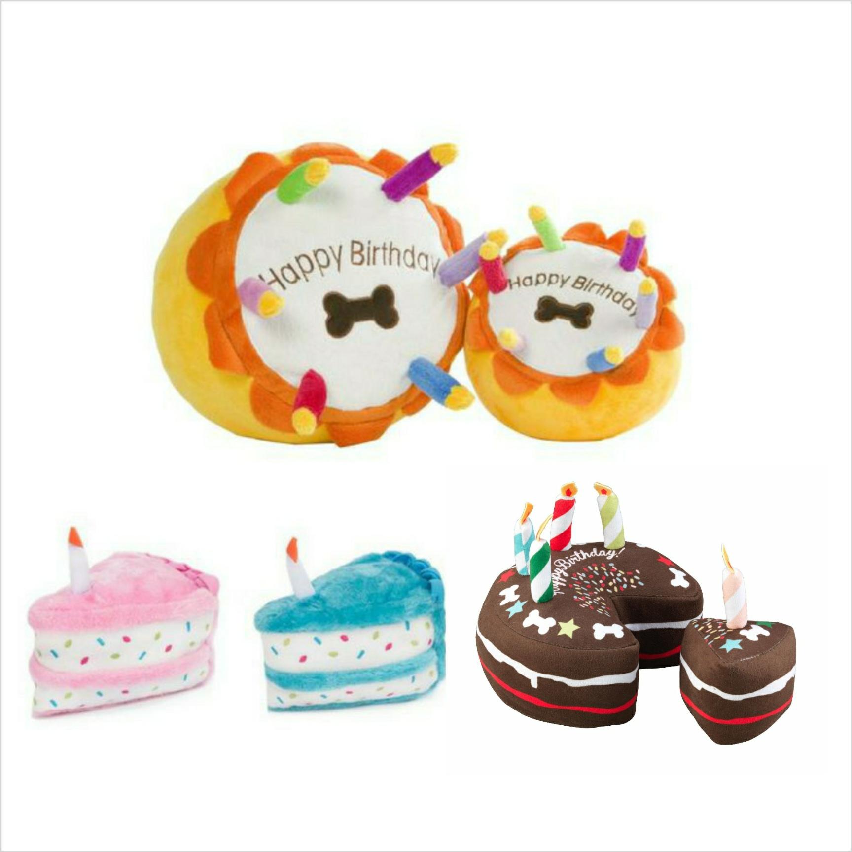 Celebration Birthday Cake Dog Toys